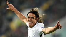 Edinson Cavani metió dos goles en remontada de París Saint Germain