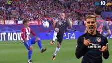 El 'sombrero' de Antoine Griezmann a Franck Ribery por Champions