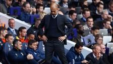 Pep Guardiola perdió su racha de victorias ante Tottenham