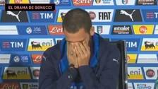 Bonucci se conmovió con el drama de su hijo Matteo