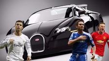 Los 10 autos más lujosos y caros que usan los futbolistas