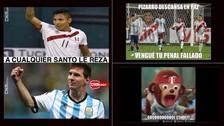 Perú vs. Argentina: los memes que invadieron la red tras el empate en Eliminatorias
