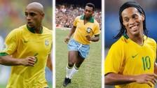 El once ideal de los mejores futbolistas brasileños de todos los tiempos