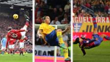 Los 20 mejores goles de chalaca de todos los tiempos