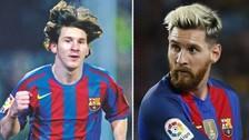 Lionel Messi y los 'looks' que ha tenido a lo largo de su carrera