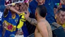 El conmovedor gesto de Tevez con un niño en la victoria de Boca