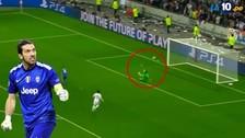 Buffon reaccionó como un 'rayo' y salvó a la 'Juve' en la Champions