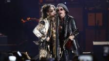 Aerosmith se despide de Lima saldando deuda con peruanos