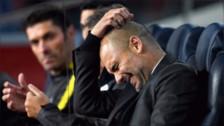 Guardiola encadenó seis partidos sin ganar por primera vez en su carrera