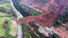 Deslizamiento de tierra en Colombia deja 6 muertos y más de 10 desaparecidos