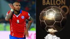 Arturo Vidal sobre el Balón de Oro: