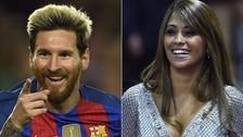Antonella Roccuzzo publicó una tierna foto de Lionel Messi con su hijo