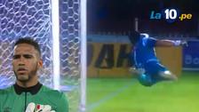 Pedro Gallese hizo una soberbia atajada que evitó gol a Veracruz