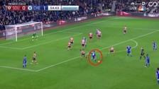 Diego Costa anotó un golazo desde fuera del área en el triunfo de Chelsea