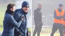 Schweinsteiger entrenó por primera vez en la temporada con Manchester United