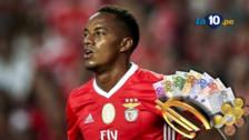 André Carrillo llegó a Benfica por 6.6 millones de euros