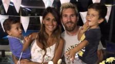 La tierna felicitación de Antonella Roccuzzo a su hijo Thiago