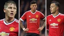 Los 8 jugadores que José Mourinho no quiere en Manchester United