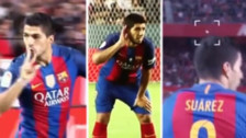 Luis Suárez recibió escupitajos e insultos de la afición de Sevilla