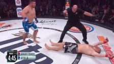 'El mercenario ruso' fue noqueado en 16 segundos en Bellator MMA