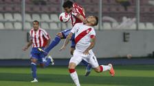 El día que Yordy Reyna hizo un lujo ante la Selección de Paraguay