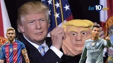 Los cracks del fútbol mundial con el look de Donald Trump