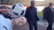 José Mourinho tuvo una broma pesada con un freestyler