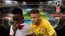 Perú buscará ratificar su buen momento ante el puntero Brasil