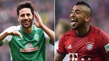 Claudio Pizarro compite con Arturo Vidal por el mejor gol latino de la historia de Bundesliga