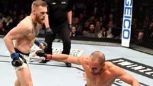 Así fue el tremendo golpe de Conor McGregor que noqueó a Eddie Álvarez