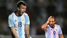 ¿Cómo reaccionó Gonzalo Higuaín tras el gol de Lucas Pratto?