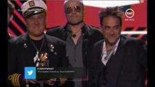 Los Fabulosos Cadillacs se llevaron #LatinGRAMMY a Mejor Álbum de Rock