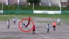 La doble agresión de una futbolista argentina en pleno partido