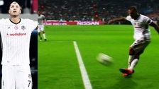 La espectacular rabona de Quaresma para el empate del Besiktas ante Benfica