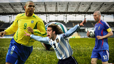 El día que Batistuta y Ronaldo se unieron para derrotar a Zinedine Zidane