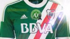 River Plate jugará con una camiseta verde en honor a Chapecoense