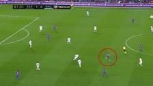El gran pase que resume la calidad de Andrés Iniesta