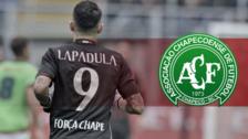 Gianluca Lapadula dedicó su gol a las jugadores del Chapecoense