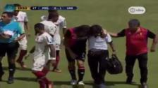 José Carlos Fernández sufrió una dolorosa lesión y tuvo que ser cambiado