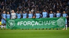 La Champions League también homenajeó al Chapecoense