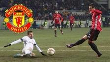 Mkhitaryan anotó golazo con huacha incluida en triunfo de Manchester United