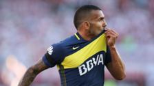 Boca Juniors venció 4-2 a River Plate con doblete de Carlos Tévez