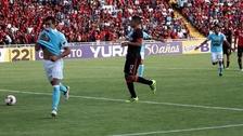 Diego Ifrán tuvo una gran definición de penal y empató el partido contra Melgar