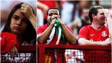 Inter de Porto Alegre descendió por primera vez en 107 años de historia