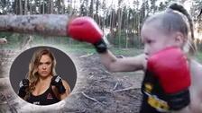 Evnika Saadvakass, la niña de 9 años comparada con Ronda Rousey