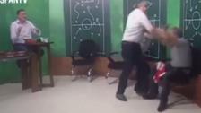 El expresidente del Inter de Porto Alegre golpeó a un periodista
