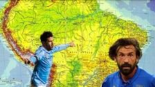 Andrea Pirlo y David Villa jugarán en la reinauguración del Estadio de Emelec