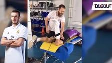 Así es el duro entrenamiento de Gareth Bale para volver a las canchas