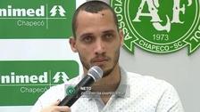 Helio Neto, sobreviviente del accidente del Chapecoense, recibió el alta médica