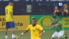 Rival le pidió de rodillas a Neymar no ser humillado y mira qué pasó